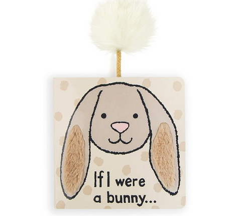 Jellycat If I Were Books - Beige Bunny