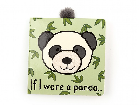 Jellycat If I Were Books - Panda