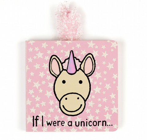 Jellycat If I Were Books - Unicorn