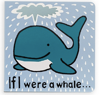 Jellycat If I Were Books - Whale