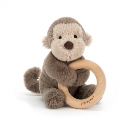 Shooshu Wooden Ring Toy - Monkey