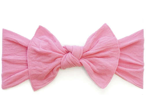 Baby Bling Knot Headband-Bubblegum