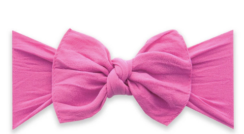 Baby Bling Knot Headband-Hot Pink