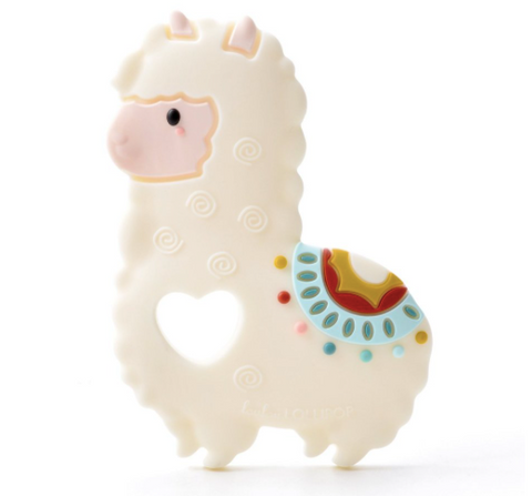 Lou Lou Lollipop Teether - Llama