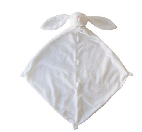 Angel Dear Lovie Blanket-white bunny