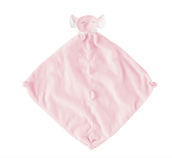 Angel Dear Lovie Blanket-pink elephant