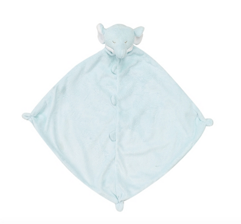 Angel Dear Lovie Blanket-blue elephant