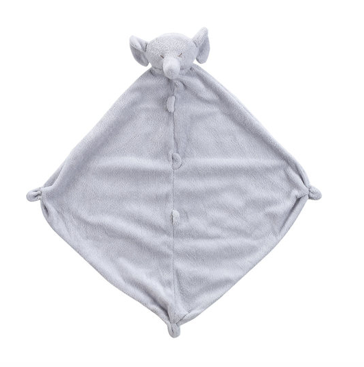 Angel Dear Lovie Blanket-grey elephant