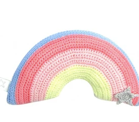 Albetta Crochet Rainbow Rattle