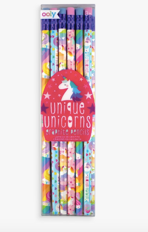 Ooly Unique Unicorn Pencils