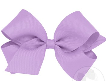 Wee Ones Medium Bow-light orchid