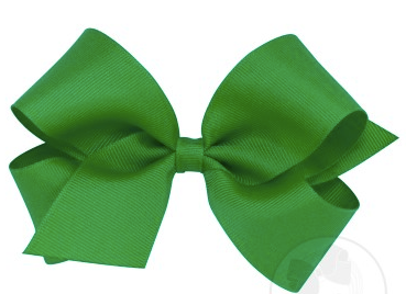 Wee Ones Medium Bow-green