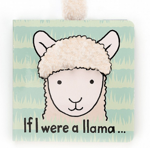 Jellycat If I Were Books - Llama
