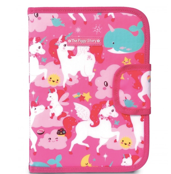 Chalk N Marker Art Case-Unicorn Land