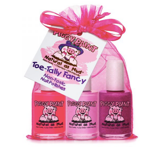 Piggy Paint Polish Set-Toe Tally Fancy