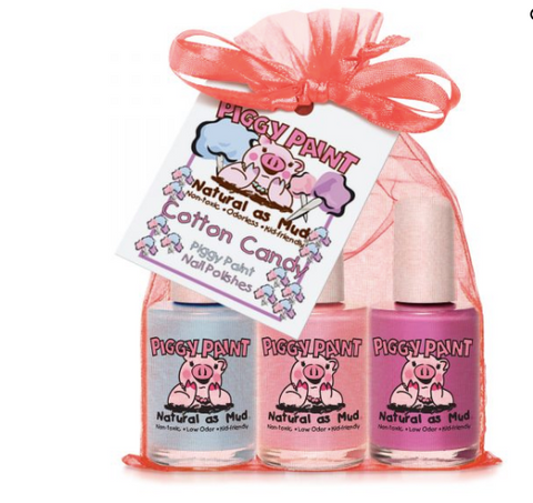 Piggy Paint Polish Set-Cotton Candy