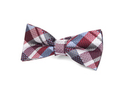 Appaman Bow Tie-rhumba blue plaid