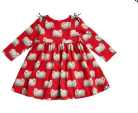 Pink Chicken Sheila Dress-sheep