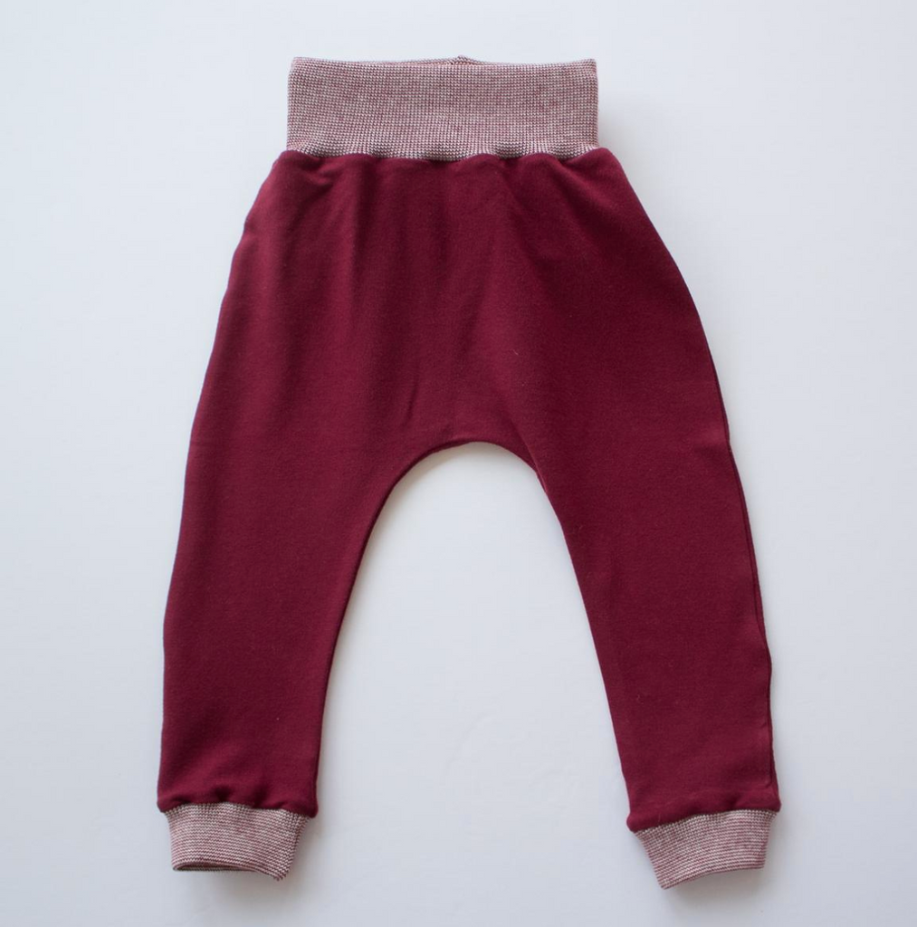Thimble Collection Jogger Pant - Cranberry