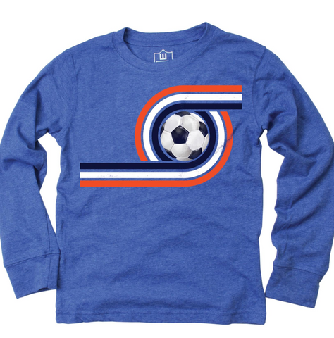 Wes and Willy Retro Soccer Tee