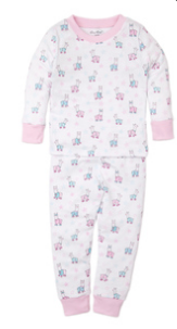 Kissy Kissy Youth Pajama Set-bedtime llamas