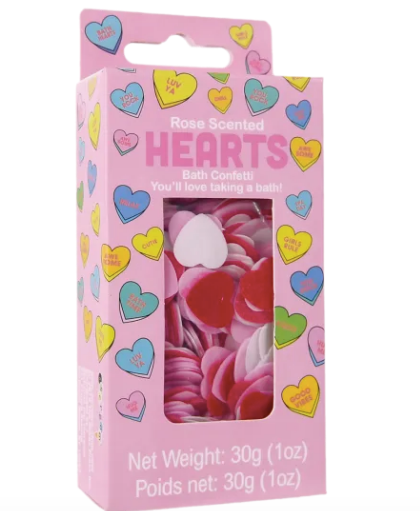 iscream Bath Confetti-hearts