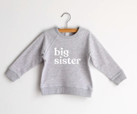 Gladfolk Sweatshirt-big sister