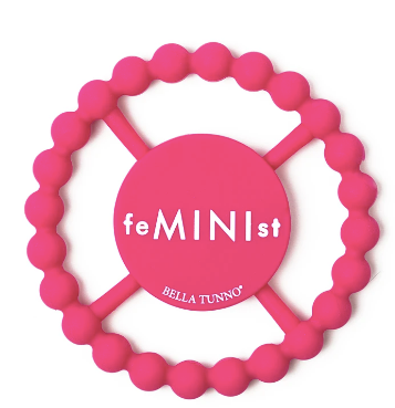 Bella Tunno Happy Teether-Feminist