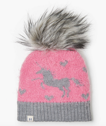 Hatley Shimmer Unicorn Winter Hat