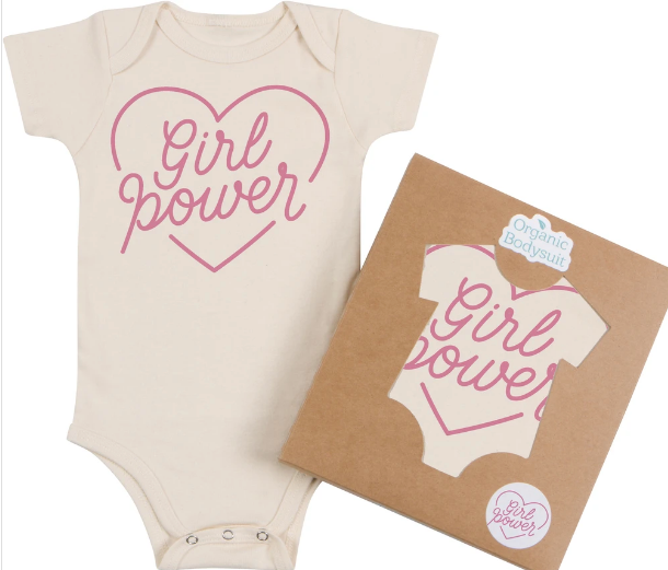 Morado Designs Girl Power Onesie
