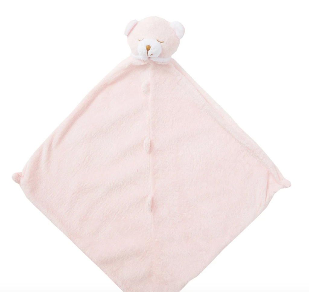 Angel Dear Lovie Blanket-pink bear