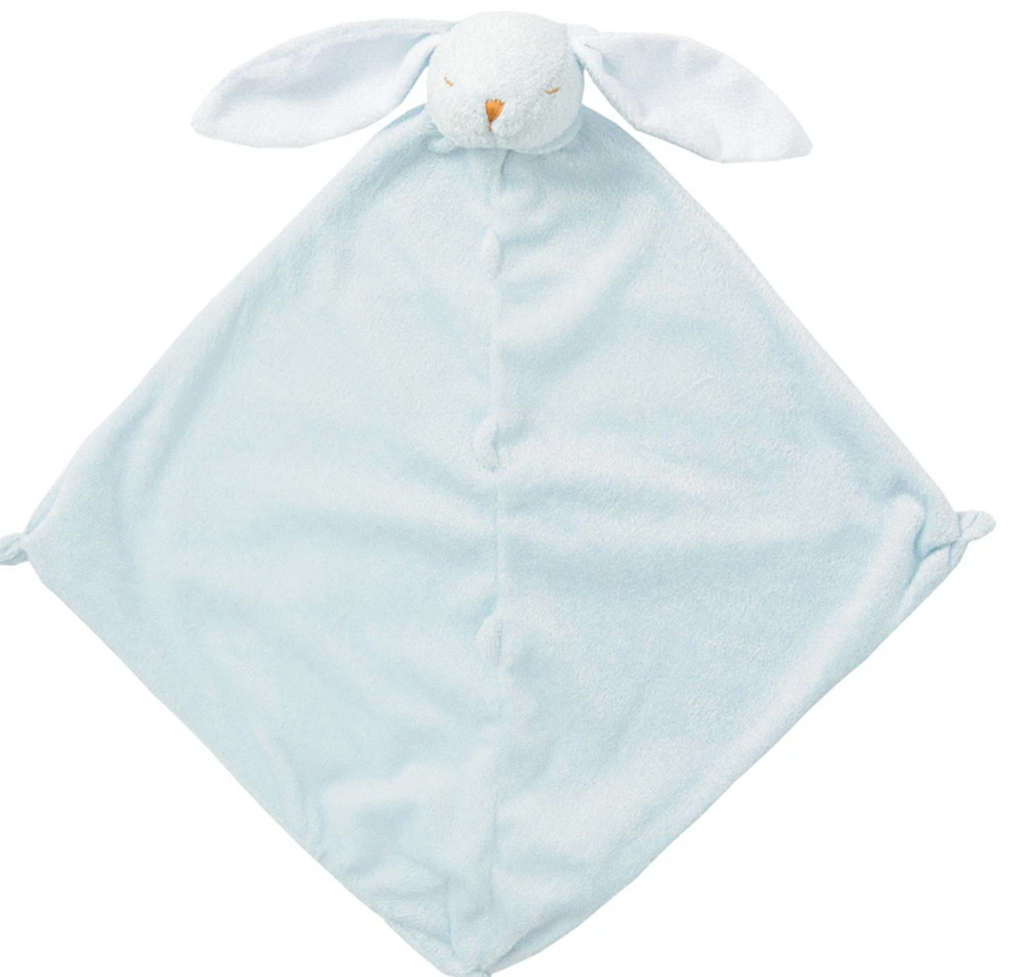 Angel Dear Lovie Blanket-blue bunny