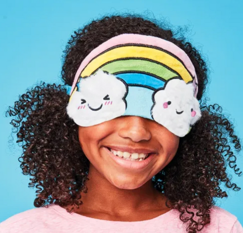 iscream Eye Mask-happy rainbow