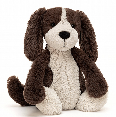 Jellycat Medium Bashful Fudge Puppy