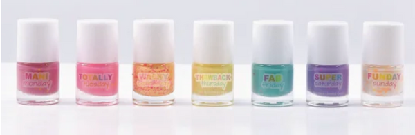 Iscream Days of the Week Nail Polish
