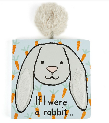 Jellycat If I Were Books - Grey Rabbit