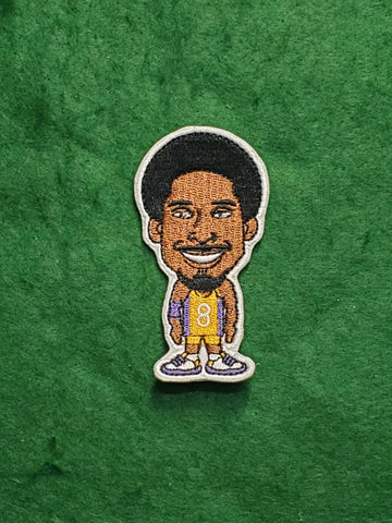 Los Angeles Lakers Kobe Bryant 3 inch Patch