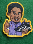 Los Angeles Lakers Kobe Bryant Crazy 8 3 inch Patch