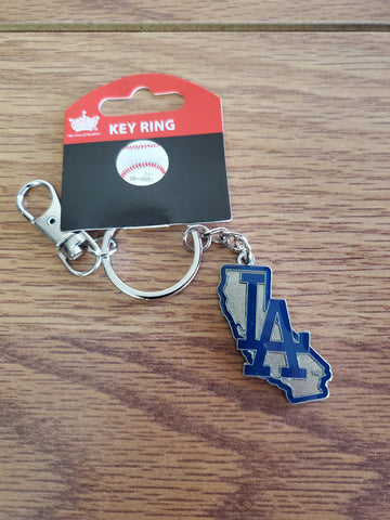 Los Angeles Dodgers California Keychain