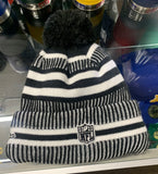 Pittsburgh Steelers New Era Black Pom Beanie