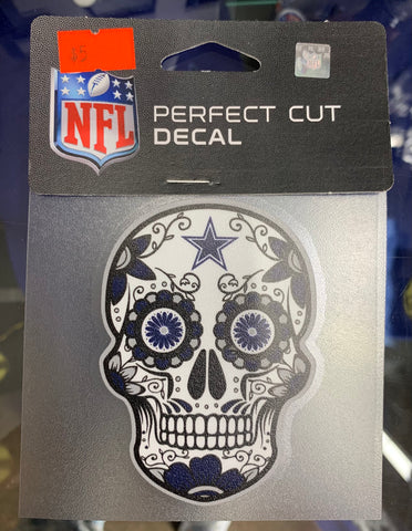 Dallas Cowboys Dia De Muertos Decal