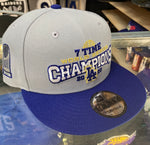 Los Angeles Dodgers World Series 7X Champions Snapback