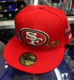 San Francisco 49ers City Icon New Era Fitted Hat