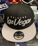 Las Vegas Raiders New Era Black Snapback