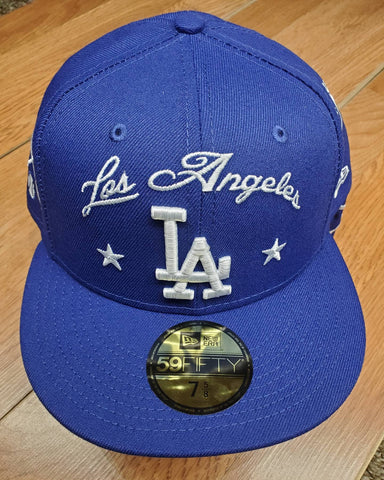Los Angeles Dodgers New Era Local B6  Fitted Hat
