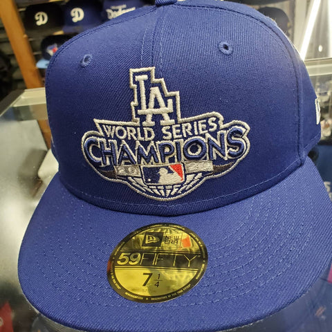 Los Angeles Dodgers New Era World Series Fitted Hat
