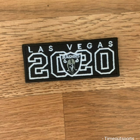 Las Vegas Raiders 2020 3 inch Patch