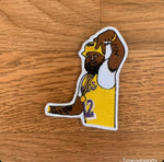 Nipsey Hussle Lakers 3 Inch Iron On Patch