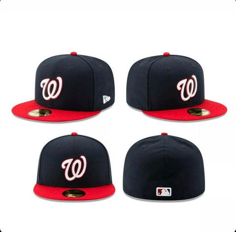 Washington Nationals New Era 59Fifty On Field Fitted Hat