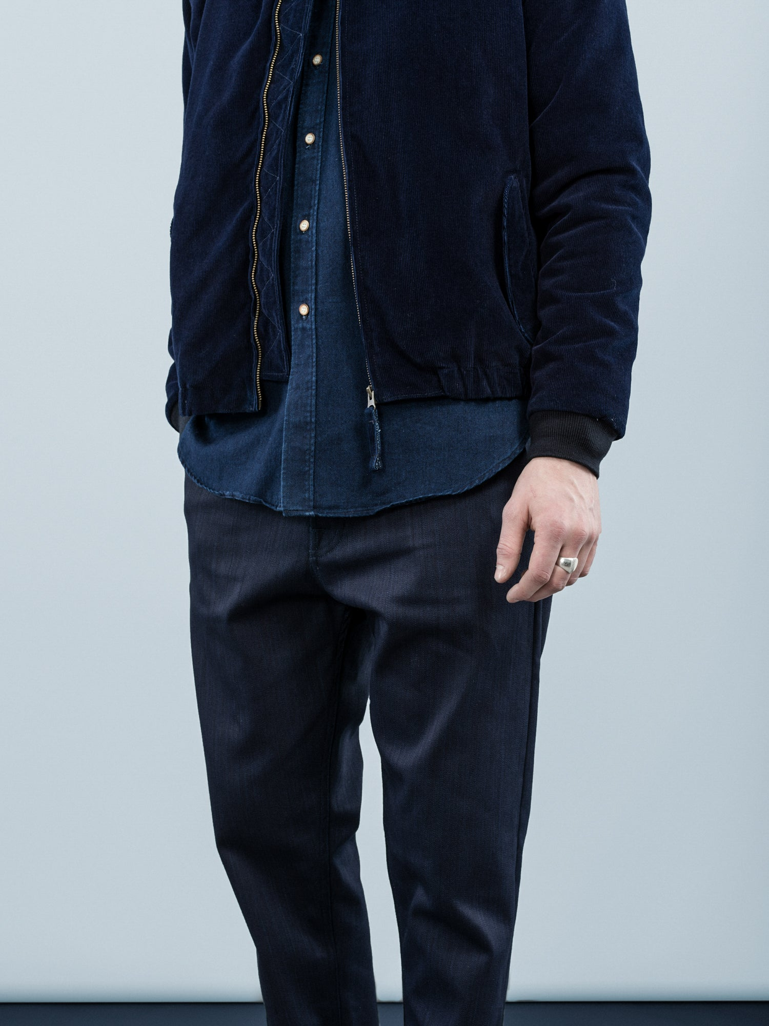 NIKE SPORTSWEAR SELVEDGE DENIM DESTROYER JACKET | Concrete Blog